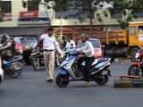 breaking traffic rules   symbolic image