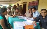 गाजीपुर डीएम का घेराव करने जा रहे दिव्यांगों को रोकने पर हंगामा