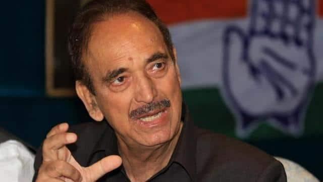 Image result for ghulam nabi azad
