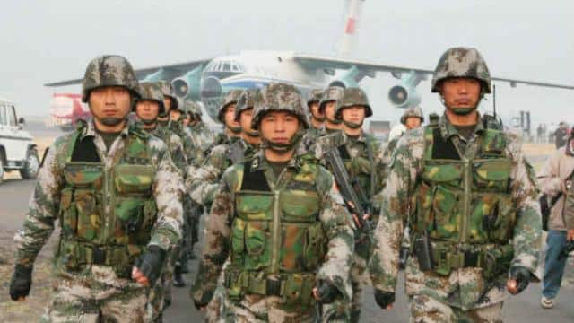 chinese army  file pic