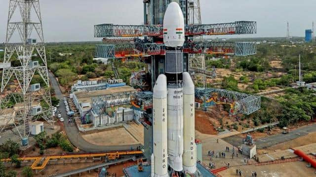 chandrayaan 2 launch mission  the geosynchronous satellite launch vehicle mark iii  gslv mk 3  or  b
