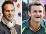 michael vaughan and adam gilchrist