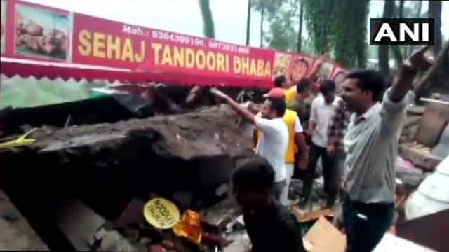 himachal pradesh building collapsed in kumarhatti