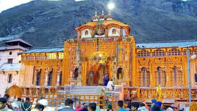 badrinath gate close