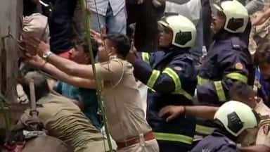 four-storey building collapses in mumbai   s dongri  50 feared trapped