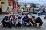 पिथौरागढ़ में सार्वजनिक जगह पर जुआ खेलने वाले 12 गिरफ्तार