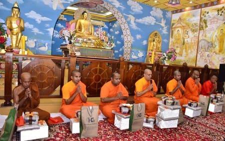 बौद्ध धर्म-: आज से त्रैमासिक वर्षावास काल में गए बौद्ध भिक्षु