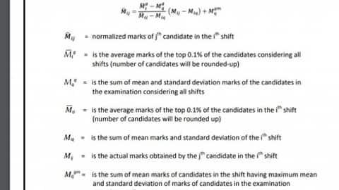 rrb paramedical marks normalization formula