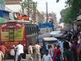 श्रावण को ले शहर में वाहनों का बढ़ा दबाव