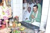 उप मुख्यमंत्री ने किया शिव का अभिषेक और गंगा पूजन