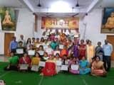 महिला पतंजलि योग समिति ने मनाया गया गुरु पूर्णिमा महोत्सव