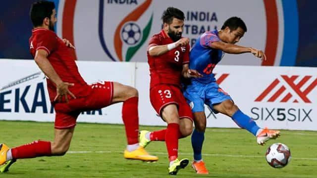 intercontinental cup  india dish out best performance in inconsequential match  hold syria 1-1