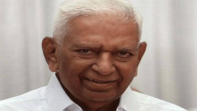 karnataka governor vajubhai wala  file pic