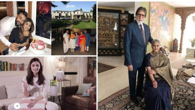 bollywood actors and there home