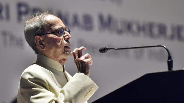former prime minister pranab mukherjee  pti photo ravi choudhary  pti7 18 2019 000226b  pti