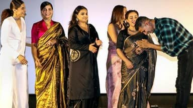 bollywood stars during the trailer launch of their upcoming film    mission mangal    in mumbai