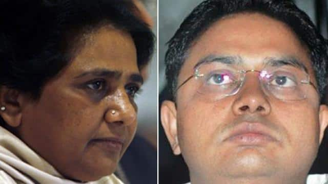 bsp chief mayawati and her brother anand kumar