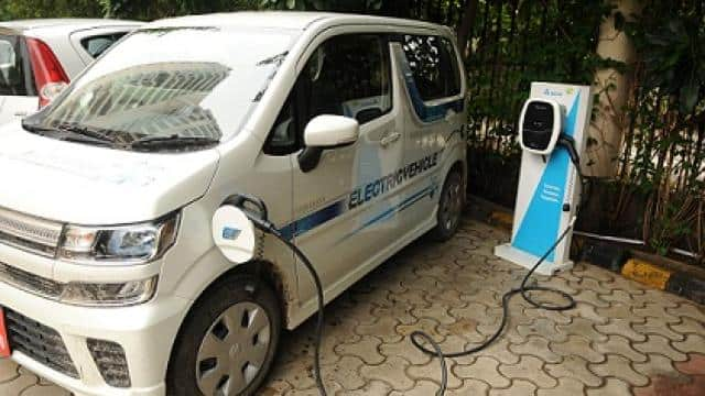 electric vehicle charging point  file photo   ht