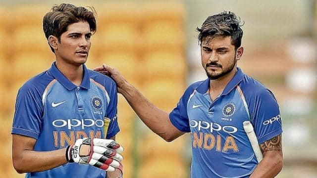 shubman gill and manish pandey