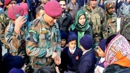 ms dhoni in srinagar  twitter