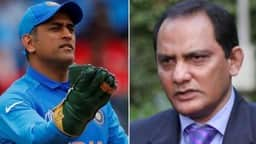 mohammad azharuddin  ms dhoni  action images via reuters twitter