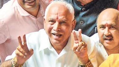 in karnataka  bjp   may stake claim to form govt today
