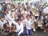 angry children protested and road block against not getting mdm in school khagaria