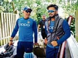 ms dhoni and rishabh pant  getty images
