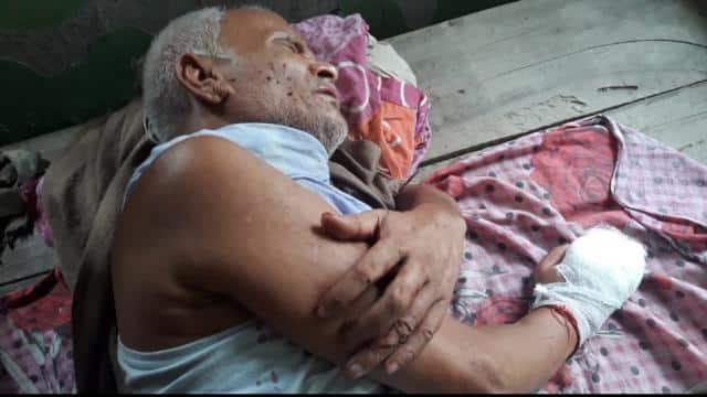 murderous assault on former school teacher sleeping in supaul