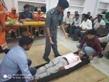 एनडीआरएफ टीम ने लेखपालों को दिया प्रशिक्षण
