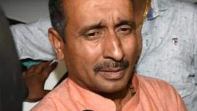 police file case against bjp mla kuldeep singh sengar in a road accident case of unnao victim  photo