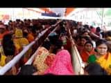 shiva devotees crowd on second monday in lakhisarai famous ashok dham temple