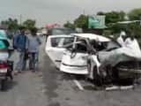 the unnao gang rape survivor met with an accident on sunday  she is critical and on life support  sa