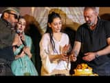 bollywood stars at teaser launch of the upcoming movie prasthanam