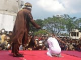 flogging in indonesia