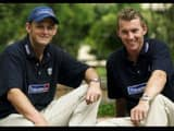 adam gilchrist and brett lee jpg