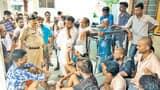ट्रांसफार्मर बदलने की मांग को लेकर ग्रामीणों ने बंद किया उपकेंद्र