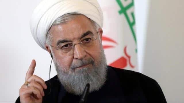 iranian president hassan rouhani  file pic