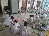 चित्रकला प्रतियोगिता में बच्चों ने दिखाए हुनर