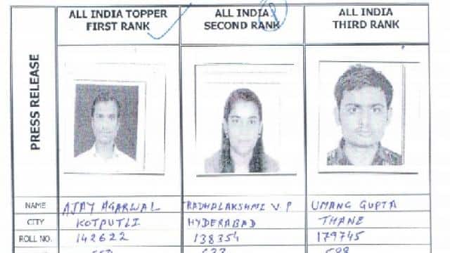 ca final and foundation exam results toppers list