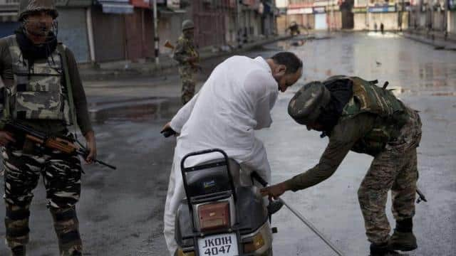 restrictions in jammu and kashmir
