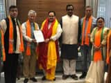 delhi  10 mlas of sikkim democratic front join bjp in presence of bjp working president jp nadda and