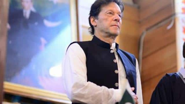 imran khan  who has seen a decline in support from islamic countries over kashmir  kept his appeals