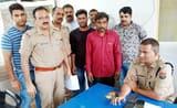 पुलिस ने मुठभेड़ में चोरी के आरोपी को दबोचा