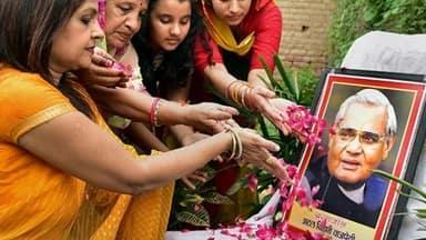 atal bihari vajpayee first death anniversary