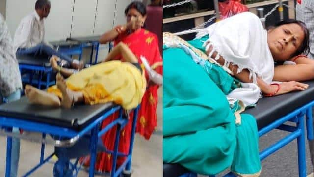 patients shifted in aiims after fire