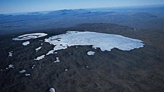 okjokull  glacier