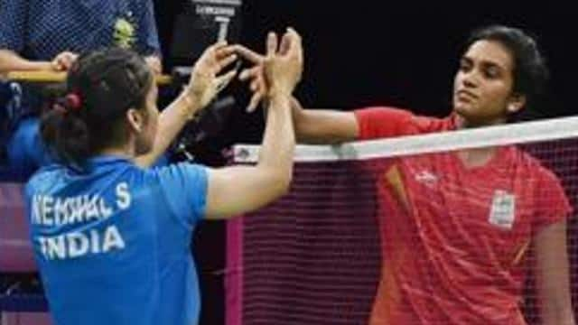 saina nehwal and p v sindhu  pti