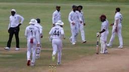 IND vs WI-A, Practice Match: इशांत-उमेश-कुलदीप की शानदार गेंदबाजी, भारत को 200 रन की बढ़त
