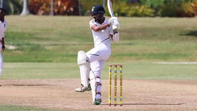 indvswi-a  practice match  rahane finds form hanuma vihari impresses as tour-game ends in draw
